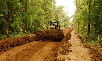 Construcción de infraestructura y vialidad